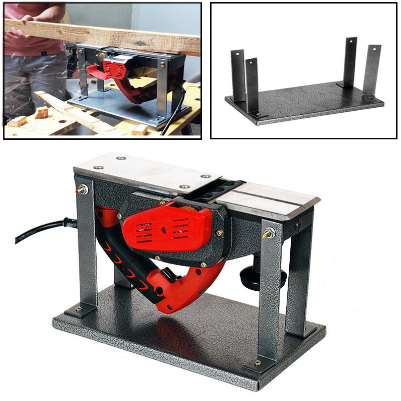 Flip support Flip Planer household Electric Planers guide table For Woodworking BenchesWoodworking Machinery Parts   -