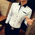 C456 100% Хлопок Мужские Футболки Мода 2017 Весна Печати Мужские Рубашки С Длинным Рукавом M-5XL Мужские Рубашки Camisa Социальной
