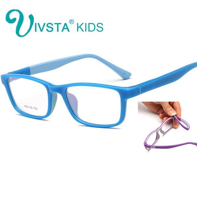dcc287ebd5325 IVSTA Flexível Seguro Óculos crianças óculos armações de Óculos TR90 óculos  de armação para crianças Infantil