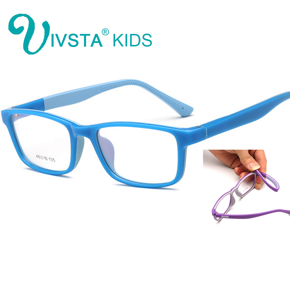 IVSTA Flexible Safe Eyeglasses niños marcos de gafas Gafas para niños TR90 Infant Optical Eyeglasses girls myopia 908