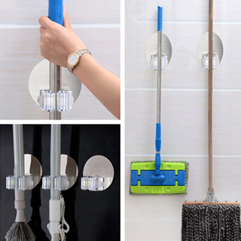 2016 New Wall Mounted Type Mop Broom Holder Hanger Home