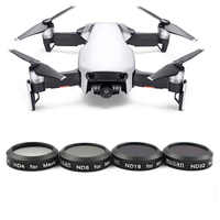 4 Pcs ND4+ND8+ND16+ND32 Lens Filter kit for DJI Mavic Air Optical Glass Waterproof Aluminum Alloy Frame With Carrying Box