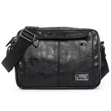 Luxury Brand Men Bag Leather Casual Crossbody Shoulder