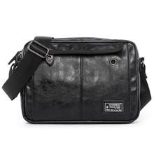 Lüks marka erkek çantası deri Casual Crossbody omuz çantaları erkekler için tasarımcı Vintage küçük Flap seyahat askılı çanta erkek Bolsas