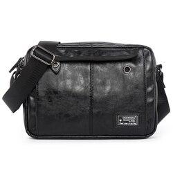 Marca de luxo dos homens bolsa de couro casual crossbody sacos de ombro para o designer do vintage pequena aleta viagem mensageiro saco masculino bolsas