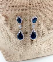 Luxury Excellent Cut Cubic Zircon stud  Earrings CZ  Earrings Bridal Wedding Jewelry For Women Free shipping