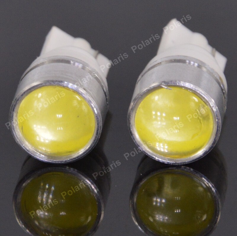 100Pcs Hot Sale T10 COB Car LED Bulbs Backup Reverse Lights DC12V Auto Dashboard Wedge Reading