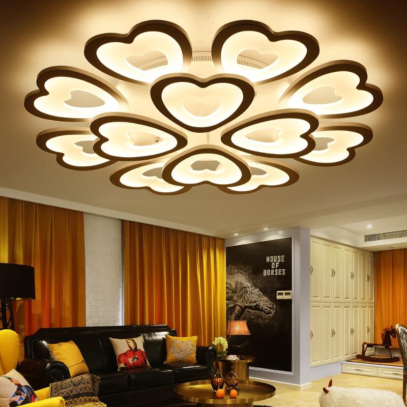 Eusolis 110 220v aluminum led ceiling light verlichting - Lamparas de techo modernas led ...