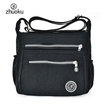 Women Messenger Bags Nylon Canta Shoulder Bags Handbags Famous Brands Designer Crossbody Bags Female Bolsa sac a Main ZK735