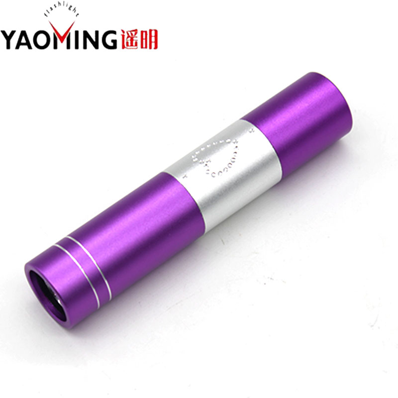 Mini Aluminum Portable Led UV Flashlight 365nm Violet Light Waterproof UV Torch Lamp By AA For Marker Checker Money Detection