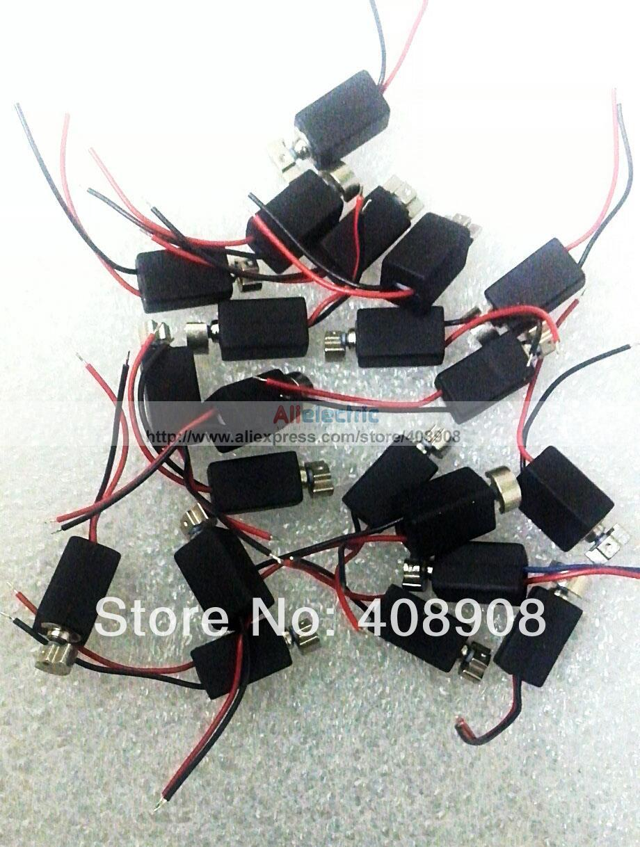 toys,robot Diy Fine Quality Dc Motor Fashion Style 30pcs/lot Low Power 4mm X 8mm Vibration Pager Vibrating Vibrator Motor For Cell Phone