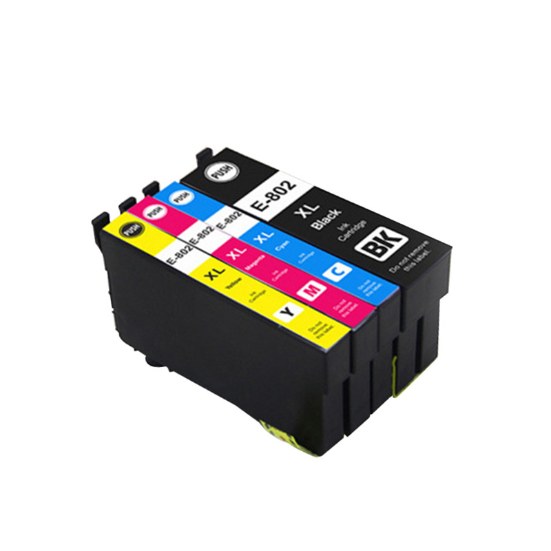 Vilaxh T802 T802xl Ink cartridge For Epson WorkForce WF-4720 WF-4730 WF-4734 WF-4740 WF-4745 Stylus printer ink