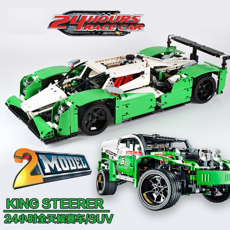 20003 LEPIN Technic City Series 24 Hours Race Car Model Building Blocks Enlighten DIY Figure Toys For Children Compatible Legoe 2017 enlighten city series garbage truck car building block sets bricks toys gift for children compatible with lepin