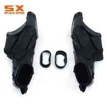 Мотоцикл черный Пластик Воздухопровод Канальные трубы для Suzuki GSXR600 GSXR 600 GSXR750 GSXR 750 2006 2007
