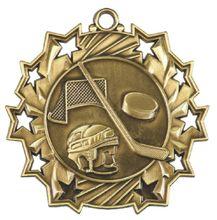 Low price hockey medals big discount custom metal wholesale sports hot sales Bronze Medal Award Trophy