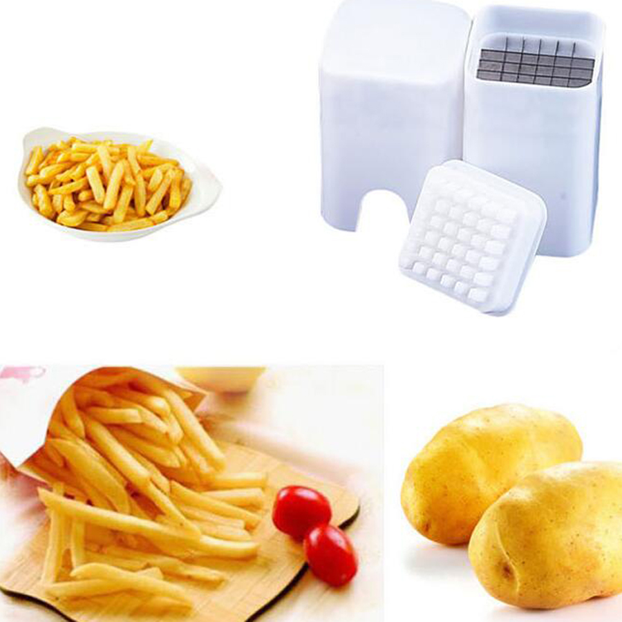 Gadget Cuisine Us 5 99 5 Off 1pc Fries French Fry Potato Cutter Chips Slicers Gadget Cooking Tools Gadgets Cut Fries Kitchen Device In 1pc Fries French Fry Potato