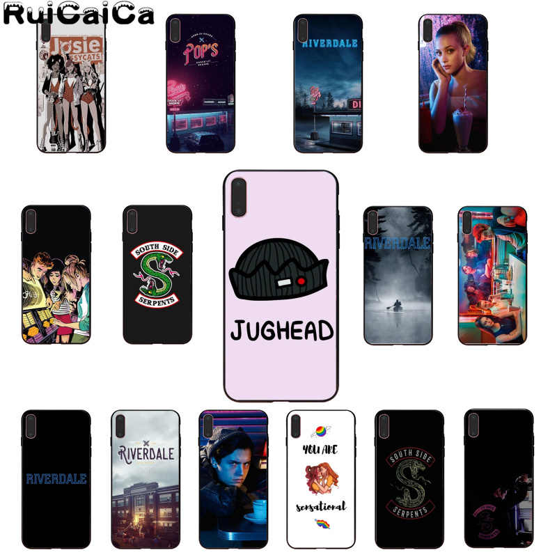 RuiCaiCa Riverdale TV shows Customer High Quality Phone Case for Apple iPhone 8 7 6 6S Plus X XS MAX 5 5S SE XR Cover
