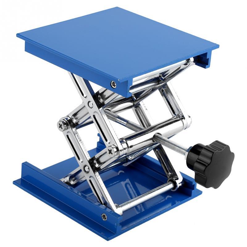 Asixxsix Laboratory Lifting Platform Aluminum Laboratory Lifting Platform Rack Support for School Physics Chemistry Biology Classes Laboratory Equipment Lifting Table in