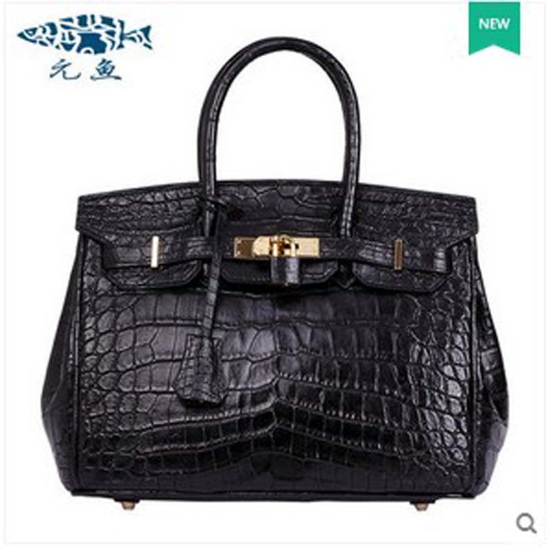 yuanyu 2017 hot new free shipping real crocodile women handbag leather bag authentic crocodile belly without stitching women bag yuanyu 2017 new hot free shipping crocodile handbag leather handbag handbag lock high capacity crocodile leather women bag