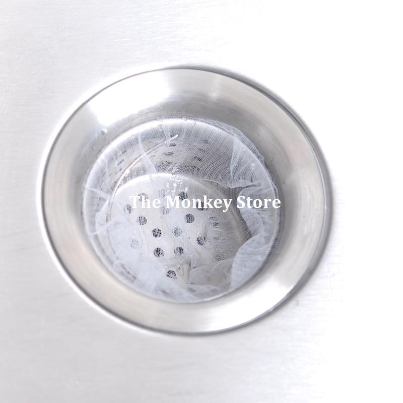 Kitchen Sink Quit Working: 30Pc Garbage Bag Kitchen Hair Drain Stop Sink Water Bags