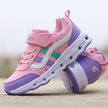 Girls Children Shoes Spring Pink Brand Kids Trainers Lightweight Sport Comfortable Running