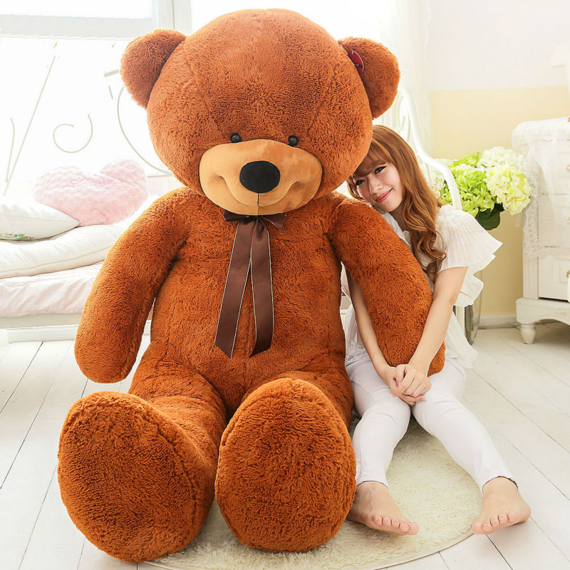 200 cm big huge stuffed teddy bear toy capa sem recheio. Black Bedroom Furniture Sets. Home Design Ideas