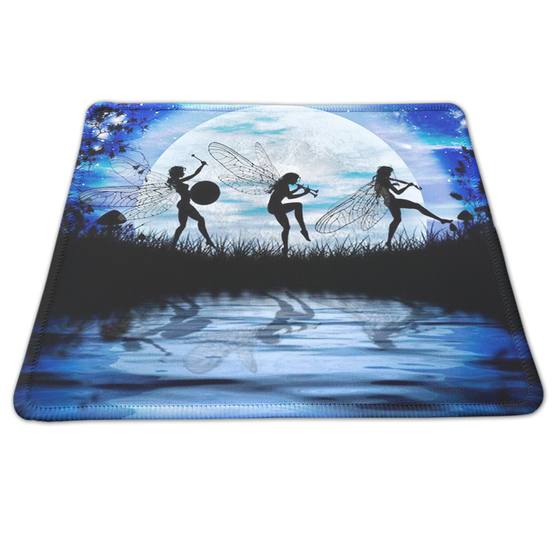 Customized Rectangle Non-Slip Rubber Mousepad Gaming Mouse Pad PC Computer Desk Mousemat Optical Mice Mats