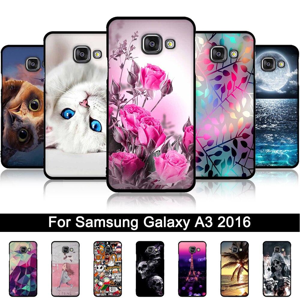 Galleria fotografica for Samsung A3 2016 Case Soft Silicone Phone Case for Samsung Galaxy A3 2016 Case Cover Fundas for Samsung Galaxy A3 A310 A310F