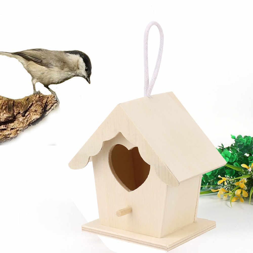 деревянный домик для птиц висячие гнезда гнезда для птиц