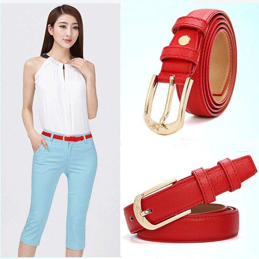CATELLES Leather Belts For Women Designer Female Fashion Belt High Quality Woman Cinturones Mujer Metal Buckle Ceinture Femme (3)