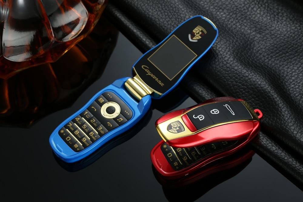 Unlock Car With Phone >> Unlock Newmind F15 Mini Car Key Shape Student Flip Mobile Phone