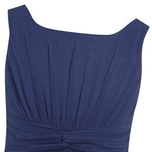 Image 5 - 4 14Y gorąca sprzedaży granatowy niebieski maluch dziewczyny szyfonu wiązane talii Ruched kwiat dziewczyna letnia sukienka mięta zielona ubrania dla dzieci 6 kolory