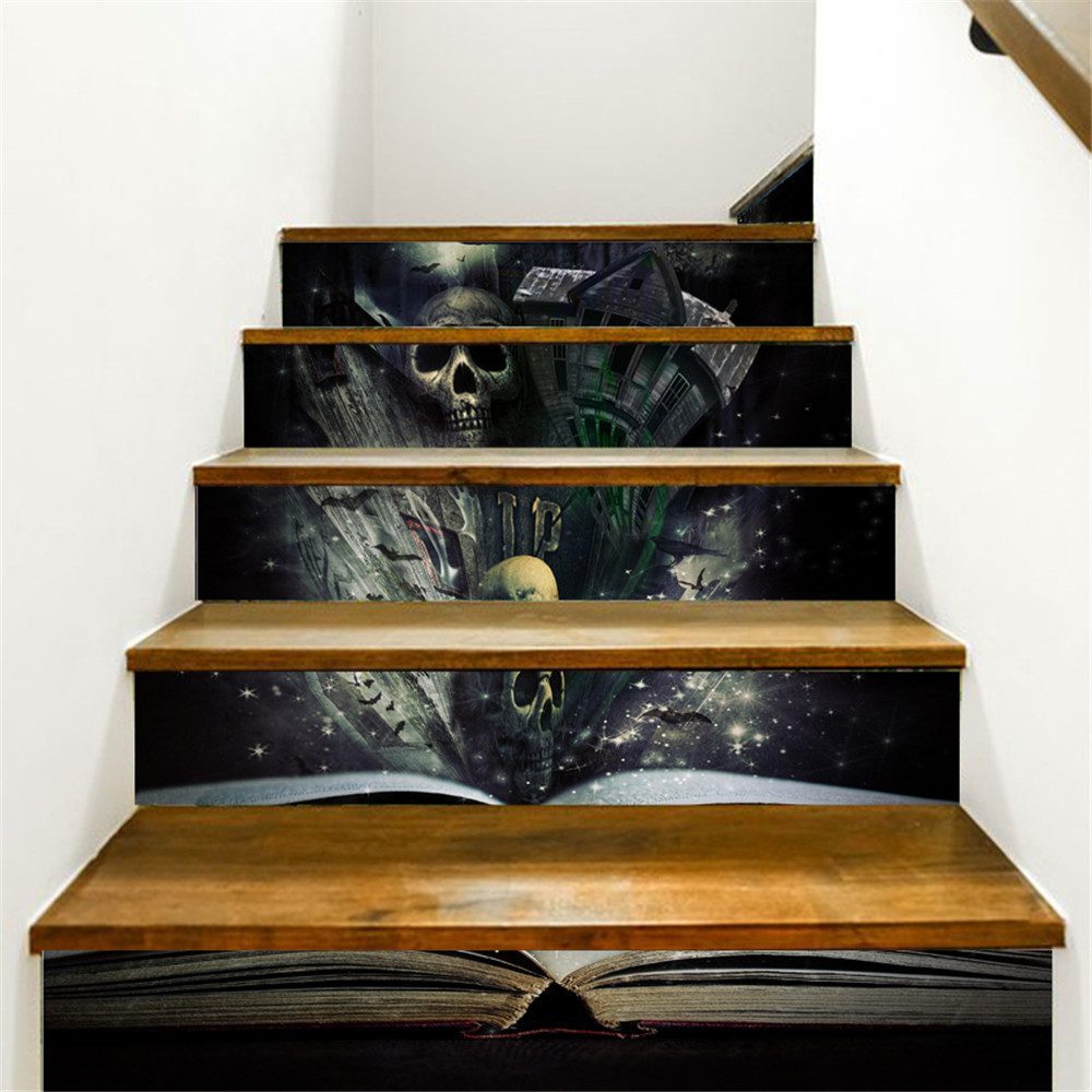 Aliexpress Com Buy 18x100cm Diy 3d Stairway Stickers