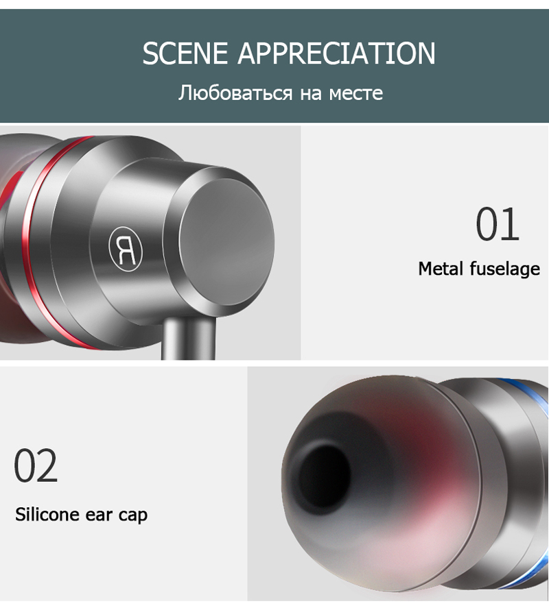 Tomkas In-ear Wired Earphone For Mobile Phone Earphones 5 Colors 3.5mm In Ear Sport Micro Earphone For iPhone Xiaomi With Case (36)
