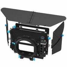 FOTGA DP500III Pro DSLR caja mate para sombrilla con soportes de filtro de donuts para A7 II A7RII A7S II BMPCC 5DIII 15mm rod rig
