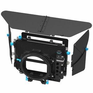 Image 1 - Fotga DP500IIIプロデジタル一眼レフマットボックスサンシェードでドーナツフィルターホルダーa7 ii A7RII a7s ii bmpcc 5 5diii 15ミリメートルロッドリグ
