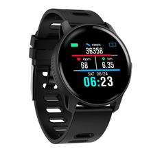 купить Woman Men Smart Watch IP68 Waterproof Fitness Tracker Heart Rate monitor Smartwatch Women Clock for android IOS по цене 1781.23 рублей