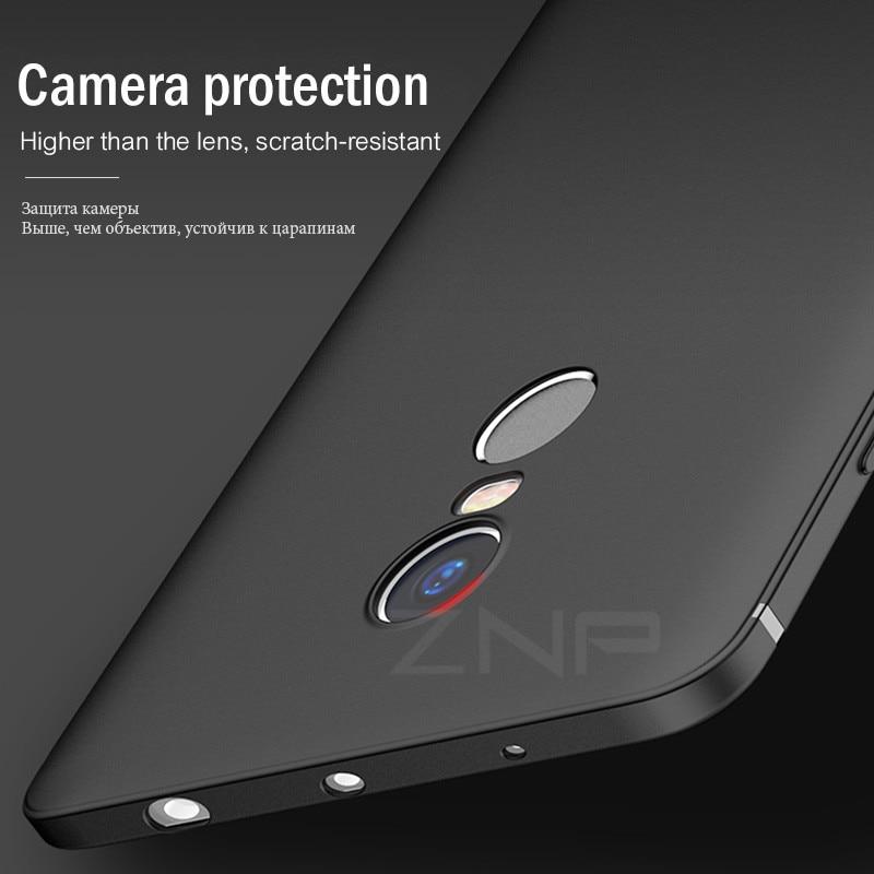 Znp Matte Silicone Soft Phone Case For Xiaomi Redmi 4x