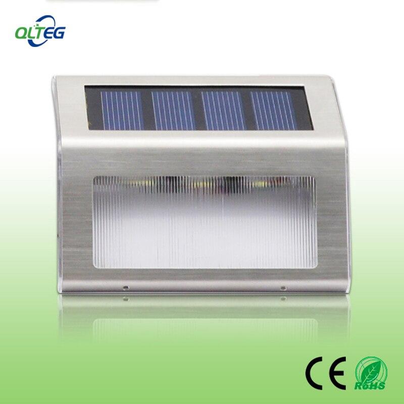 New Outdoor Garden 8 Led Solar Shed Eaves Work Light Lamp: New Arrival LED Solar Powered Fence Gutter Solar Light
