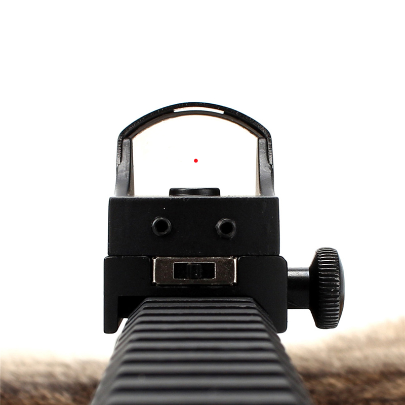Askco Rot und Grün Dot Anblick-bereich Tactical Mini Waffe Gun Anblick Holographische Rot Grün Dot Reflex Sight Für Zielfernrohr jagd