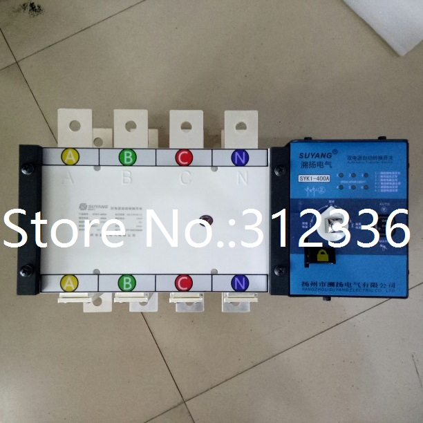 Fast Shipping SYK1-400A 4P Suyang ATS Working 440V Power 220V Dual power automatic transfer switch Automatic starting system fast shipping 6 pins 5kw ats three phase 220v 380v gasoline generator controller automatic starting auto start stop function