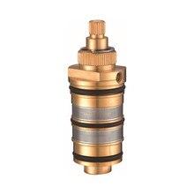 Термостатический кран картридж смеситель для ванны смеситель для душа смесительный клапан Регулировка температуры воды AF009