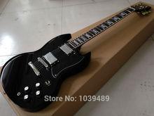 Schwarz G/400 e-gitarre mahagoni korpus Palisander griffbrett kostenloser versand