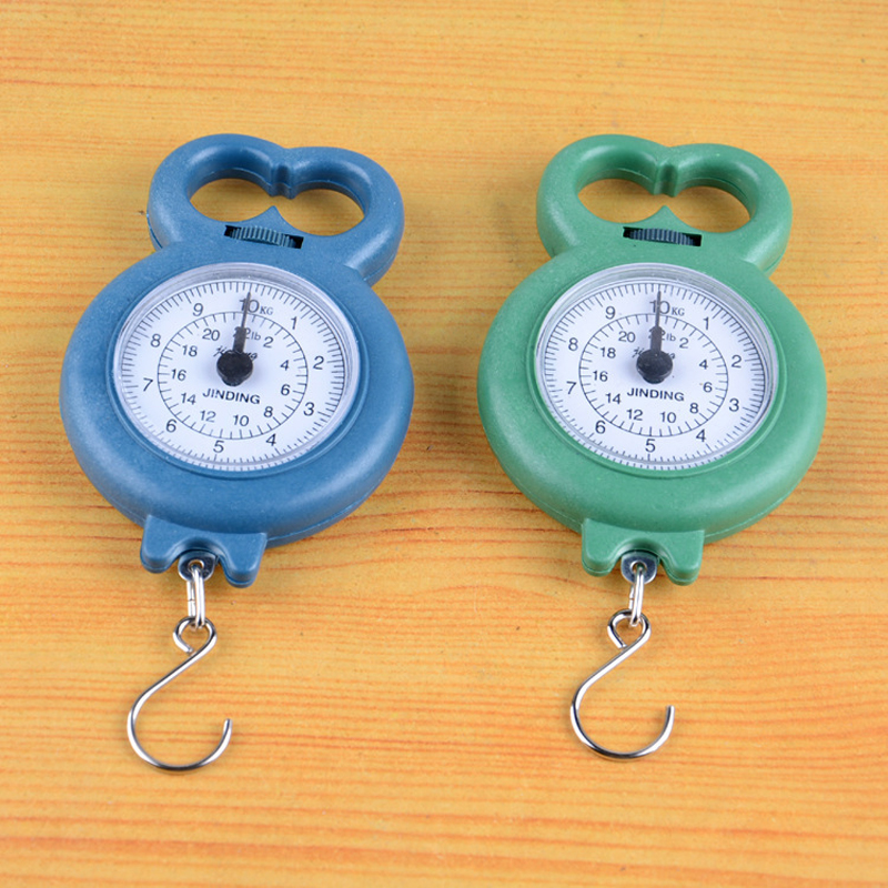 №2016 0 01kg ⊰ 10kg 10kg Luggage Weight Scale Portable ୧ʕ