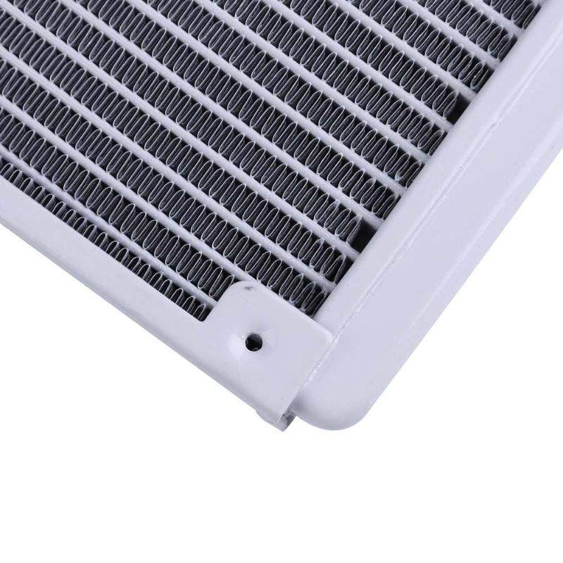 360mm 18 Tube Straight Thread Heat Radiator Exchanger for PC CPU Water Cooling