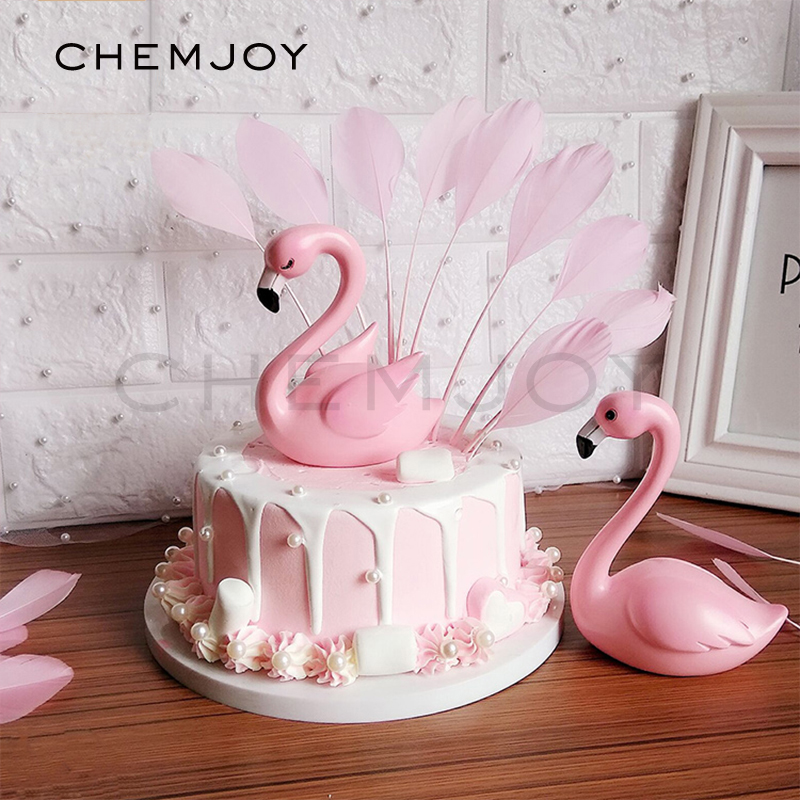 Remarkable Flamingo Cake Topper Pink Party Cake Toppers Flamingo Birthday Personalised Birthday Cards Bromeletsinfo
