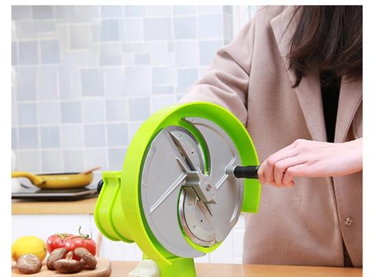 Slicer Water Tea Potato Lemon Vegetable Cutting Device 304 Stainless Steel Knife Head Adjustable Thickness