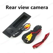 [Высокое качество] Водонепроницаемый парковки багажника Ручка камера для BMW F10 F11 F25 F30 камера заднего вида ночного видения