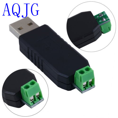 USB 2.0 to RS485 Serial Converter Adapter CP2104 SN75176 double protection FUSE + TVS stable than FT232 AQJG  ключевина palladium revolution rs et sn cp хром