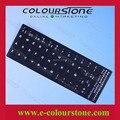 ESPAÑOL SP Negro laptop pegatina fondo blanco y las palabras etiqueta engomada del teclado del ordenador Teclado SP teclado del ordenador portátil